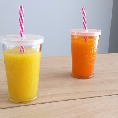 Smoothie mangue, ananas et orange