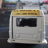 RENAULT 4 FOURGONNETTE BRIFFOD, L'EQUIPEMENT HOTELIER, GRANDES CUISINES SOLIDO 1/43 - car-collector.net