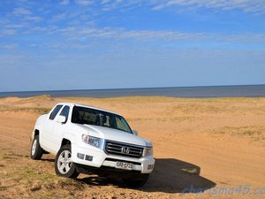 Honda Ridgeline (Amérique du sud en camping-car)