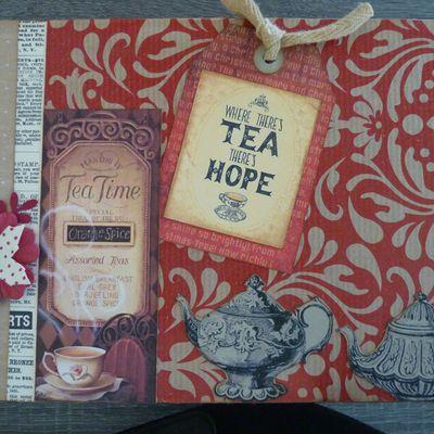 Boîte à thé et à mouchoirs