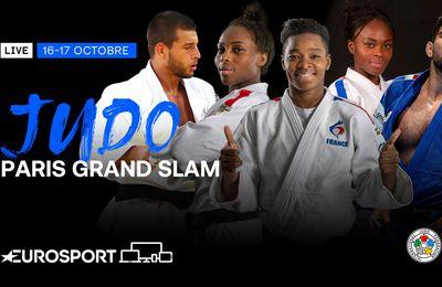Paris Grand Slam : les stars du judo mondial s'installent ce week-end sur Eurosport !