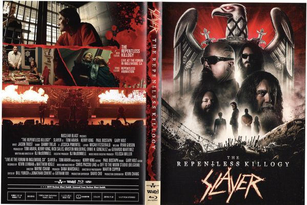 SLAYER: The Repentless Killogy ( 2019-BluRay ) Thrash-Metal