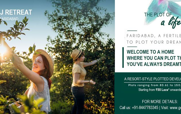 Godrej Retreat Faridabad - A golden opportunity to plot a lifetime of happiness