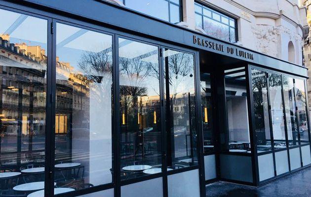 Réouverture : la brasserie du Lutetia à Paris.Question : que faut-il en penser ?