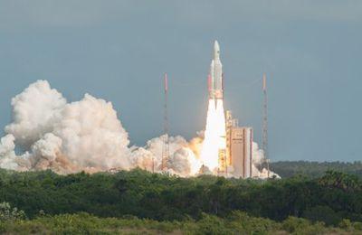 Ariane 5 vol VA249 - Intelsat 39 et EDRS-C @Arianespace @ArianeGroup #Ariane5 #VA249