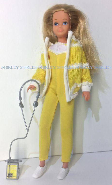 """MUSIC LOVIN"" SKIPPER DOLL CLOTHES 1985 MATTEL #2854"