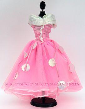 """HAPPY BIRTHDAY"" BARBIE DOLL CLOTHES 1989 MATTEL #9211"