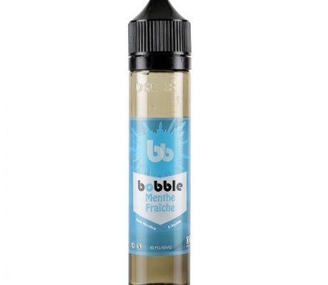 Test - Eliquide - Menthe Fraîche de chez Bobble Liquide