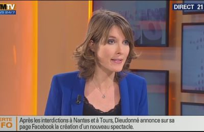 2014 01 10 - LUCIE NUTTIN - BFM TV - WEEK-END 360