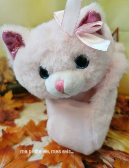peluche chat fizzy