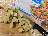 Tofu curry aux légumes colorés