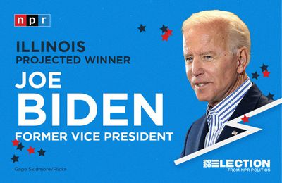 USA - Election 2020 - Joe BIDEN remporte la Floride, l'Illinois et l'Arizona