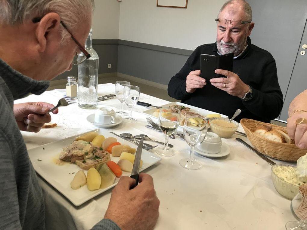 Test repas Riand Traiteur pour notre prochain Grand Chapitre.