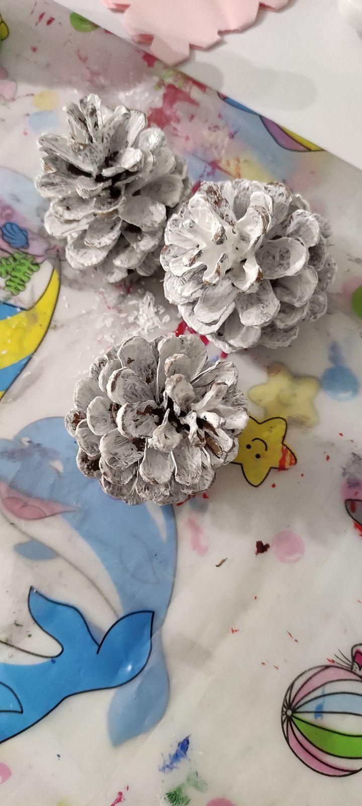 Petit mouton pomme de pin