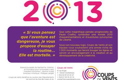 Coups de Vents 2013... Concours de composition pour orchestres d'harmonie