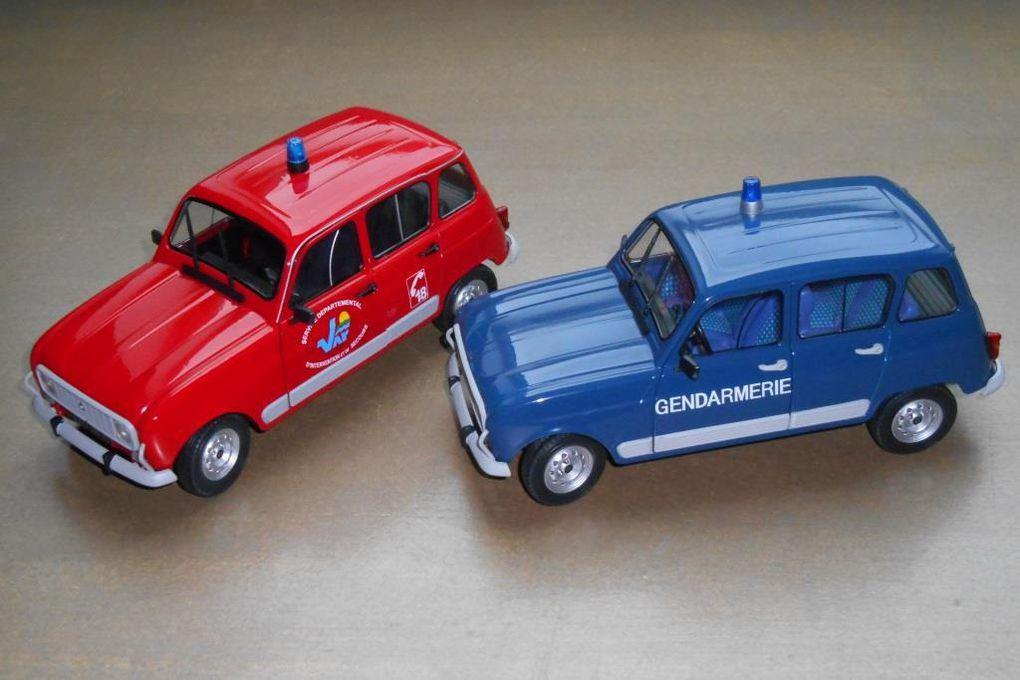 Diaporama : les versions Sapeurs-pompiers et Gendarmerie réunies pour uen séance photos (5 photos)