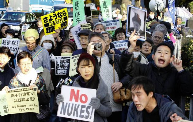 Japanese agreement with India raises protests