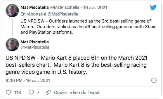 Trophée en Or pour Mario Kart 8 !