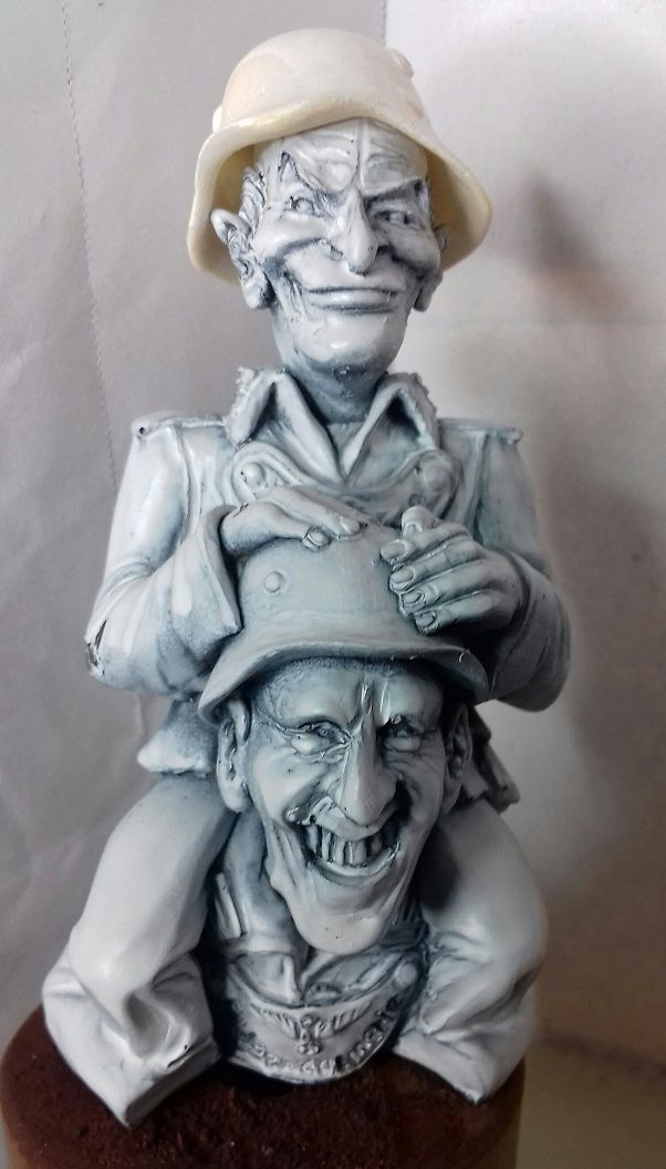 Caricature LOUIS DE FUNES / BOURVIL