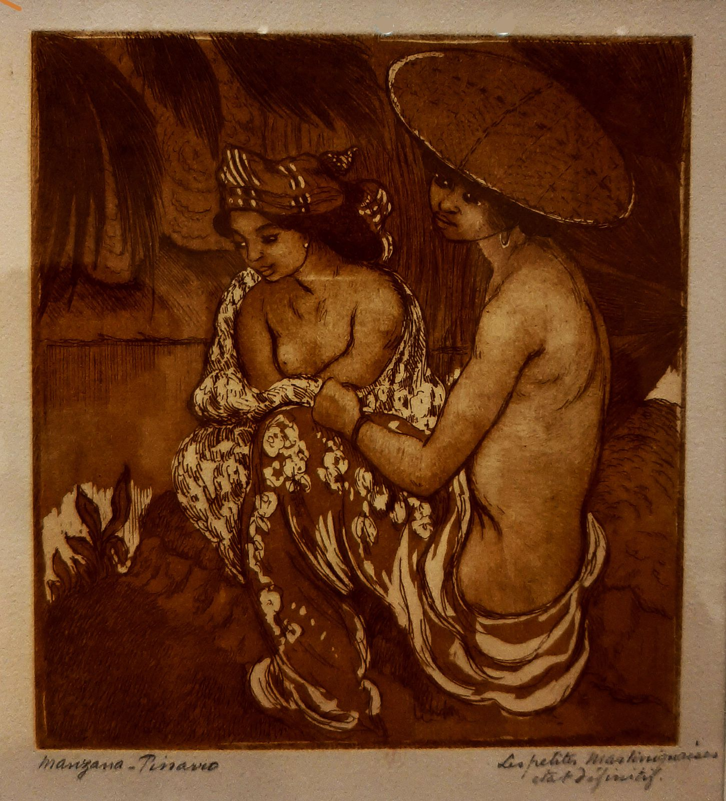 Georges MANZANA-PISSARRO au Musée Pissarro de Pontoise