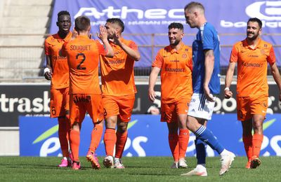 Football : avant la Coupe, Montpellier s'impose à Strasbourg (2-3)