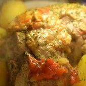 Cuisse dinde pommes de terre recette cookeo |