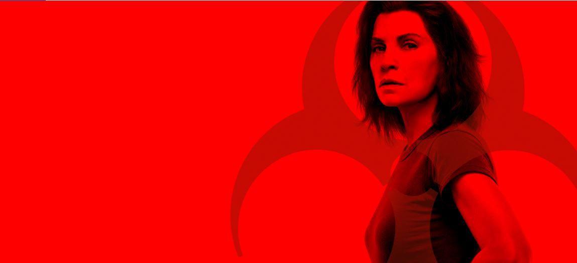 """""""The hot zone"""", série inédite avec Julianna Margulies diffusée dès ce soir sur TF1 Séries Films"""