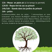 Journée pour la sauvegarde de la Création le dimanche 6 septembre à Pibrac - Ensemble paroissial du Courbet