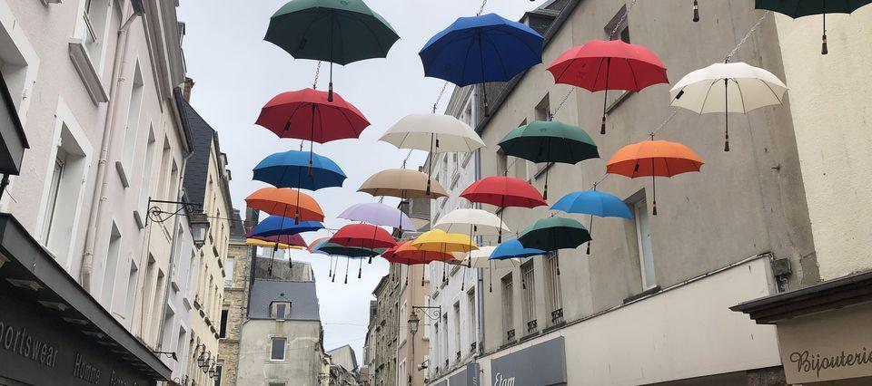 Cherbourg...et les Parapluies.