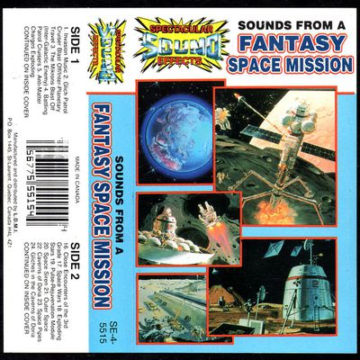spectacular sound effects - sounds from a fantasy space mission