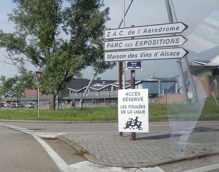 6ème Foulées de la Ligue à Colmar, on y était....