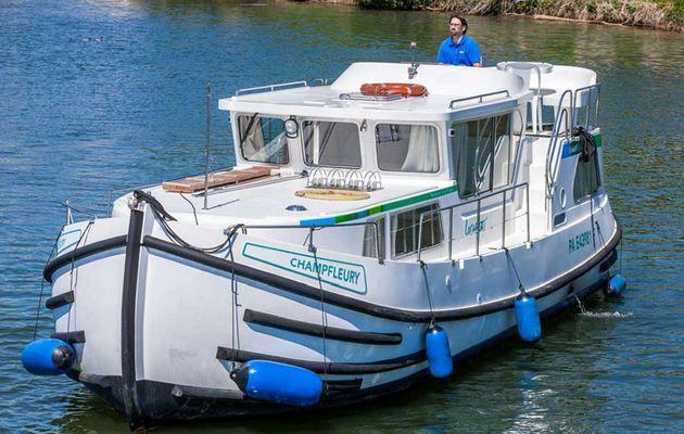 Nouvelle destination le Lot (46), pour les pénichettes de Locaboat
