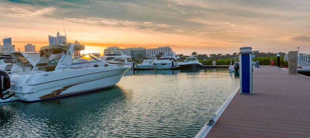 Au Bahreïn, Poralu Marine signe la Rolls des marinas pour l'hôtel Ritz Carlton