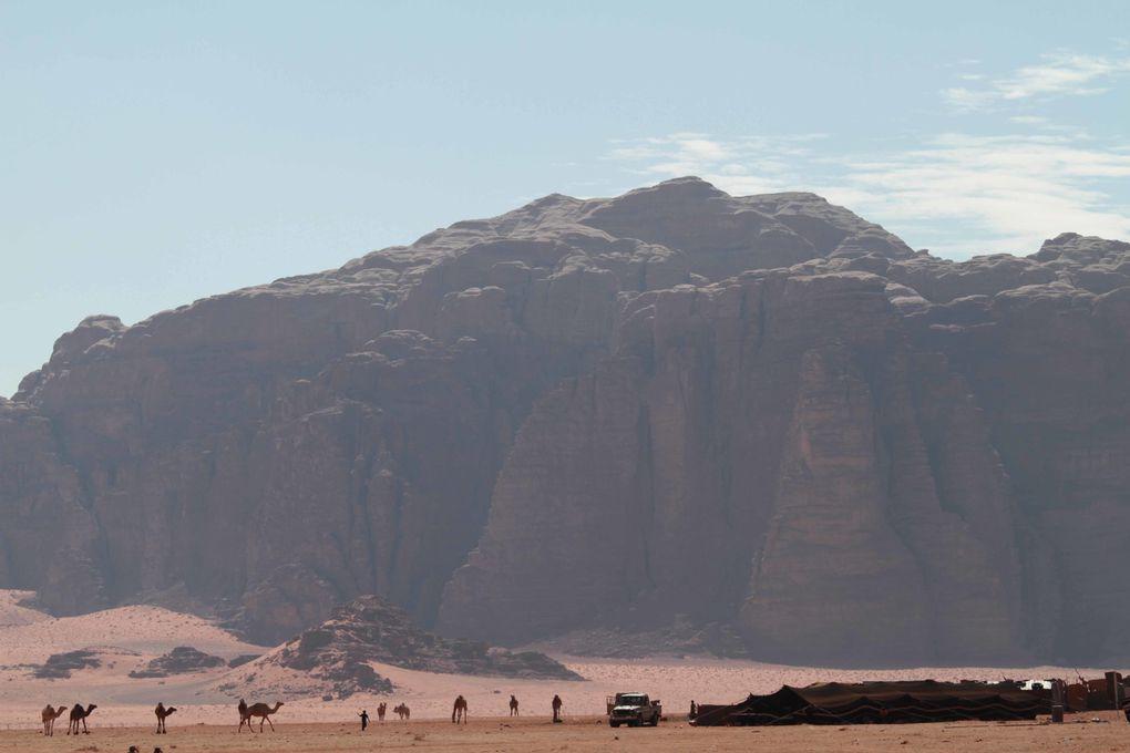 Ballades à Jerash, Amman, Petra, Wadi Rum ....