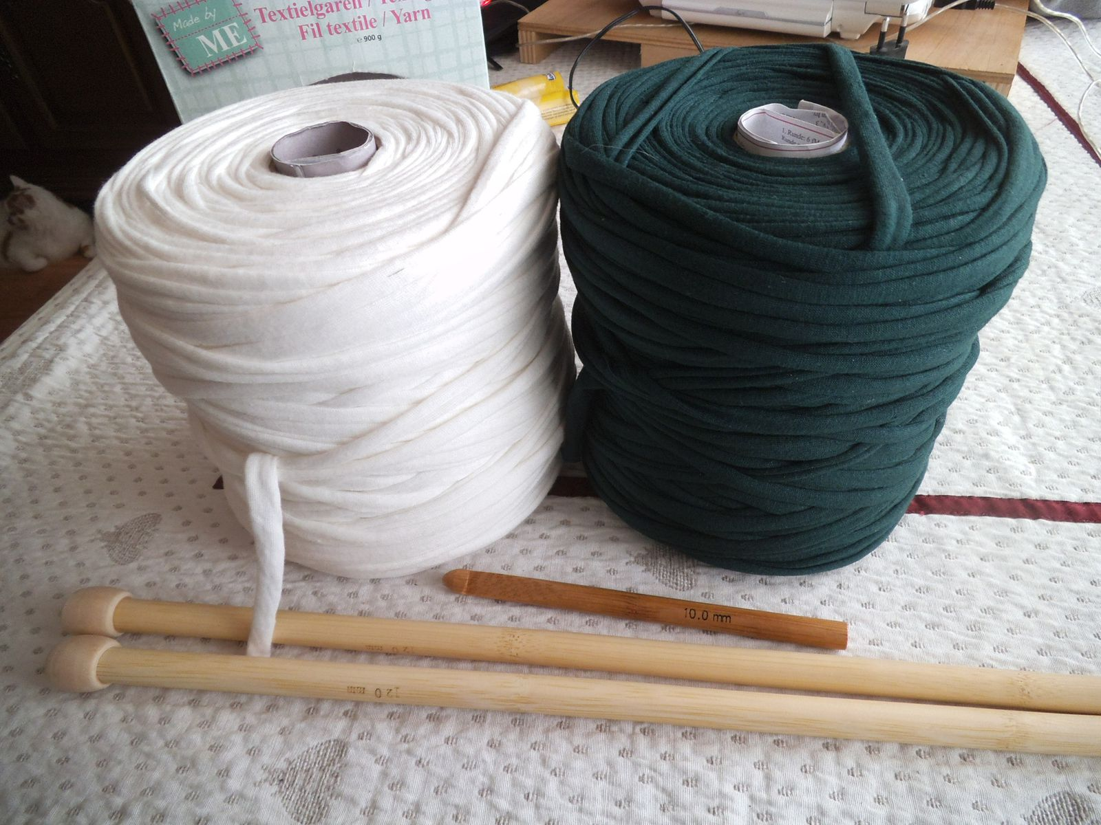 ma nouvelle laine