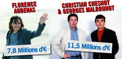 Paris aurait payé ses otages Aubenas,  Chesnot, et Malbrunot !