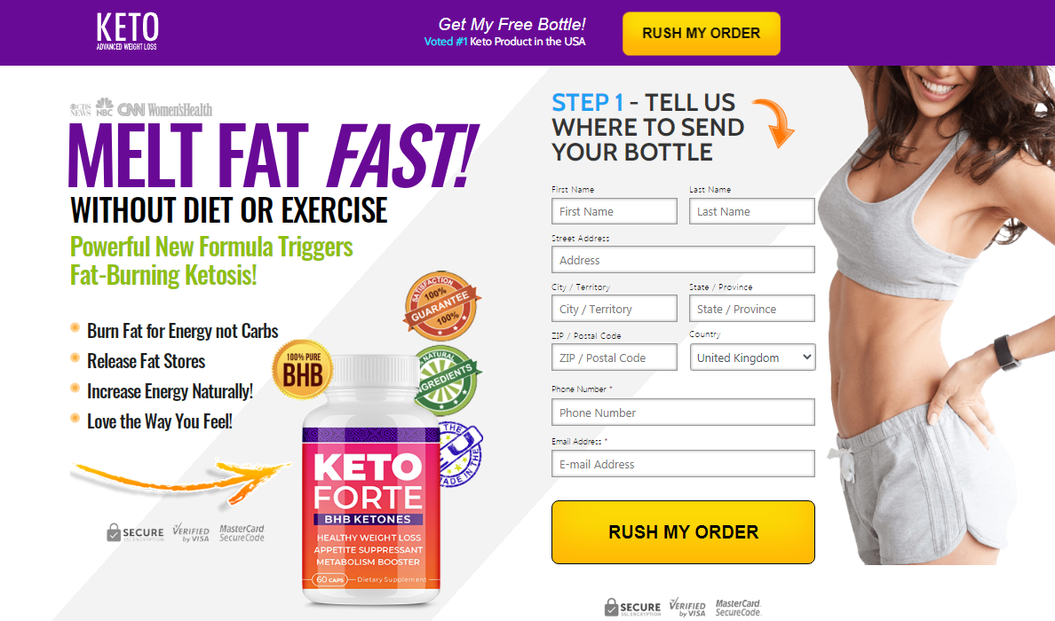 What Are Highlights Of Keto Forte UK?