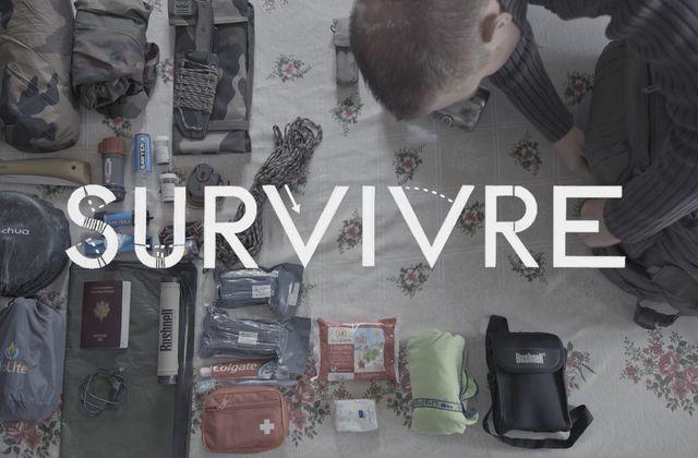 A la rencontre des survivalistes français : web série disponible dès ce 5 mai.
