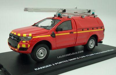 Ford Ranger 2016 au 1/43 (Alarme)