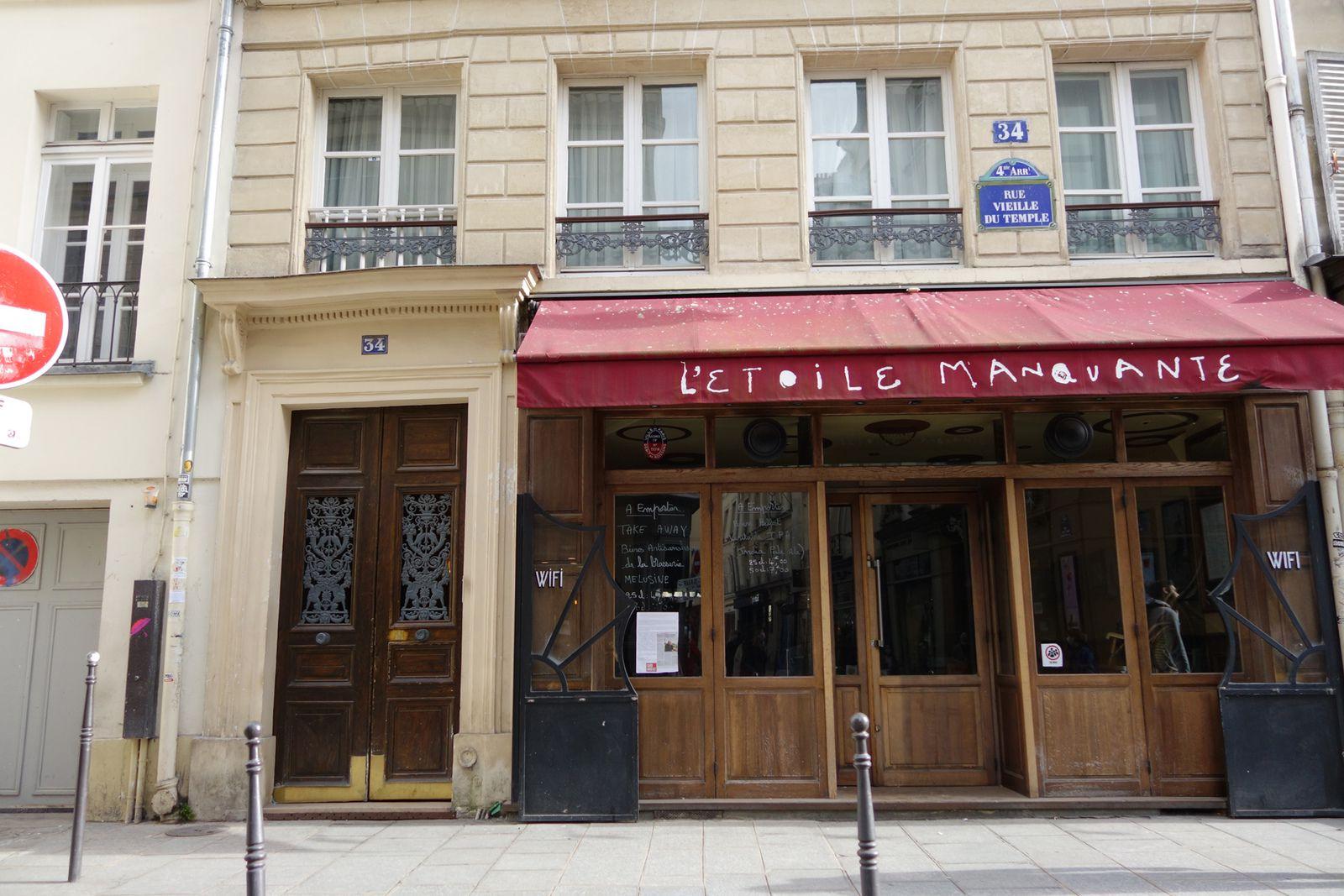BALADE DANS LE MARAIS à PARIS (17/02/2021)