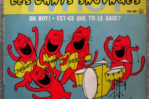 Les Chats Sauvages - Twist EP - 1962