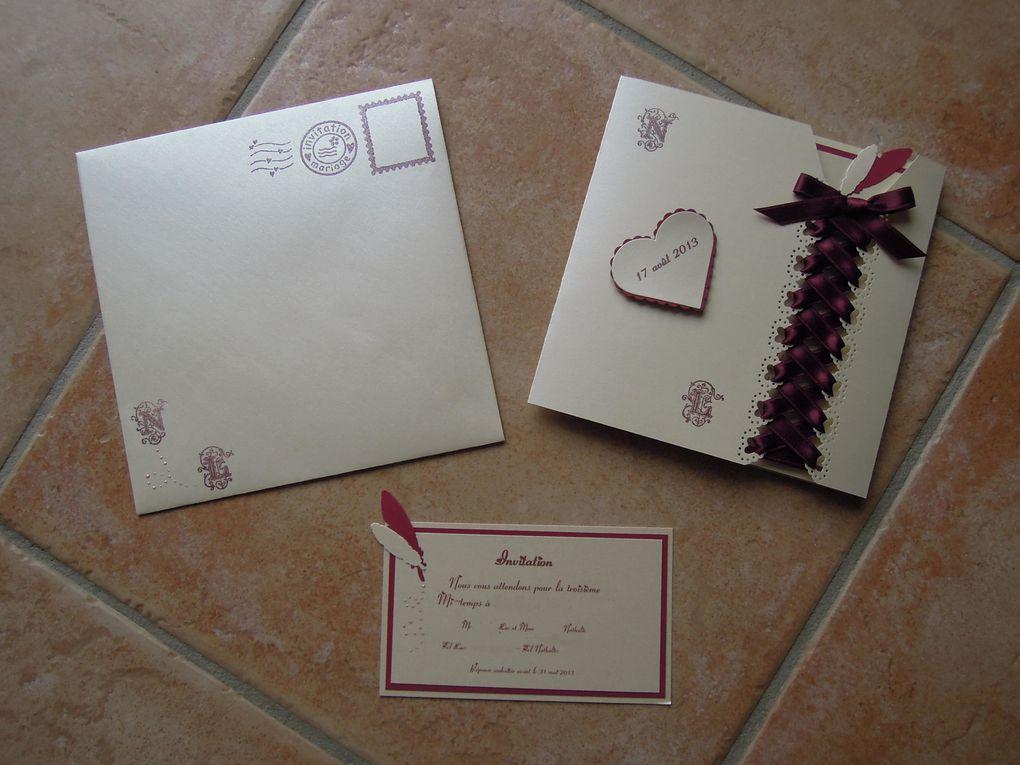 Album - Mariage : Faire-part