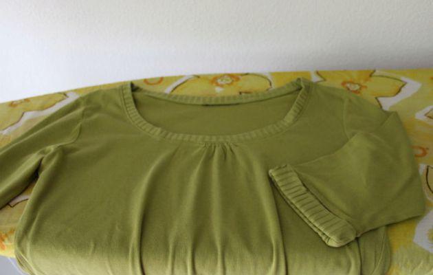 T-shirt cutwork celtique: motif, fournitures, préparation