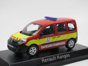 Renault Kangoo 2013 Gendarmerie et sapeurs-pompiers au 1:43 (Norev) - Mise à jour 8 juillet  2018