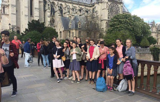 Sortie des élèves de 4e et 3e à Paris