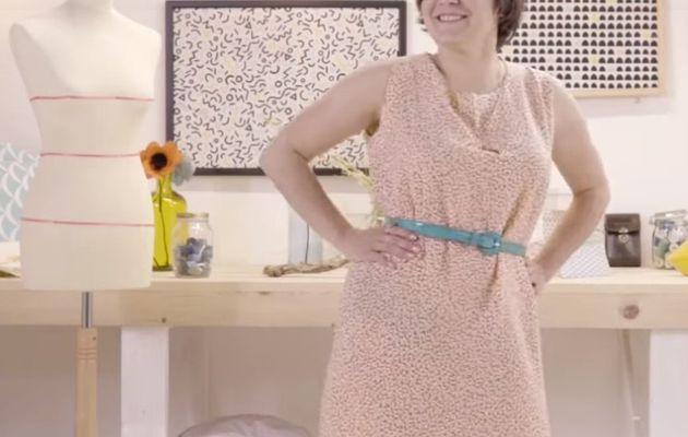 Dessiner et coudre 2 robes, 1 jupe, 1 pantalon à ses mesures (en vidéo)