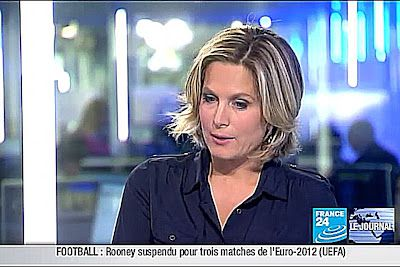 2011 10 14 @18H00 - SONIA PATRICELLI - FRANCE 24 - LE JOURNAL