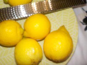 Tarte au citron meringuée .