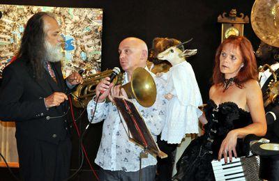 Vernissage de l'exposition MIREL et CIZEK à la galerie d'Art à Algrange en 2015