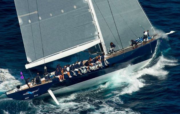 Voiles de Saint Tropez - les plus belles photos de Class Wally de Gilles Martin-Raguet